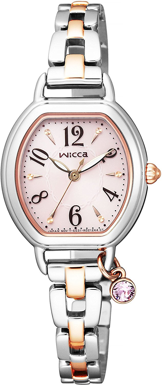 CITIZEN西铁城 Wicca系列 KP2-531-91 女款光动能腕表
