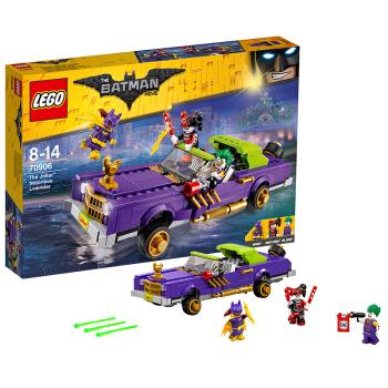 LEGO 乐高 蝙蝠侠大电影系列 小丑的低底盘汽车 70906