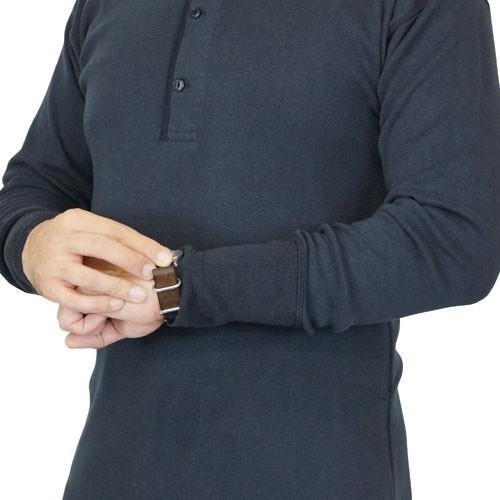 Nigel Cabourn MAIN LINE 男士长袖亨利衫
