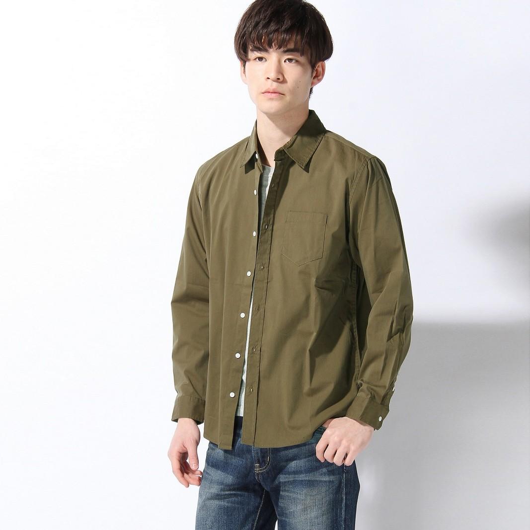 WEGO BROWNY STANDARD 男士纯色衬衫