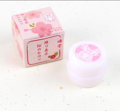椿堂 固體香水 櫻花香型 4.2g