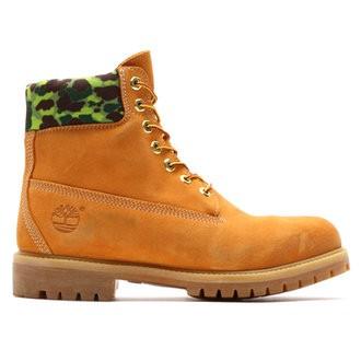 Timberland 添柏岚×atmos 联名 6 INCH 男士工装靴 +凑单品