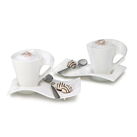 Villeroy & Boch 德国维宝New Wave系列咖啡杯组6件套
