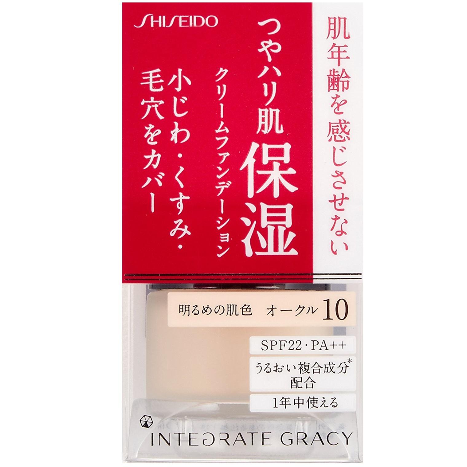 SHISEIDO 资生堂 Integrate Gracy 完美意境保湿粉底霜 25g