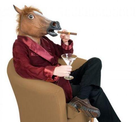 Miyaya Horse Head Mask 马头面具