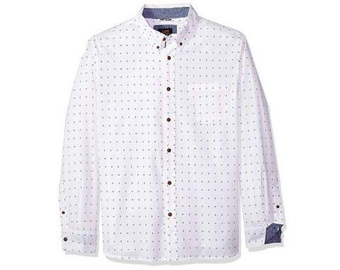 Lee 李 男士图案长袖衬衫