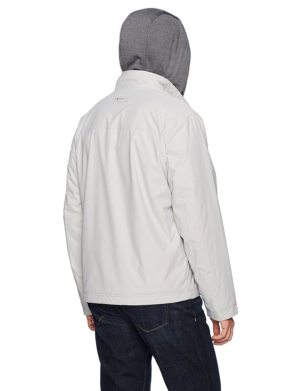 IZOD Oxford 男士连帽加绒夹克