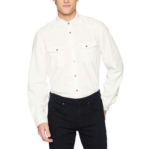 Calvin Klein Jeans 男士纯棉牛仔衬衫