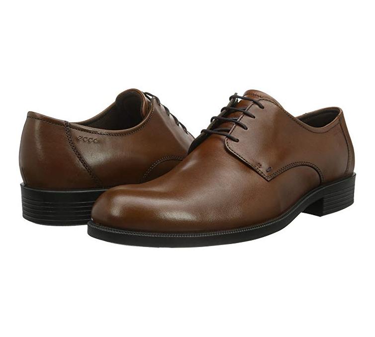 ecco 爱步 HAROLD Derby 男士真皮休闲鞋