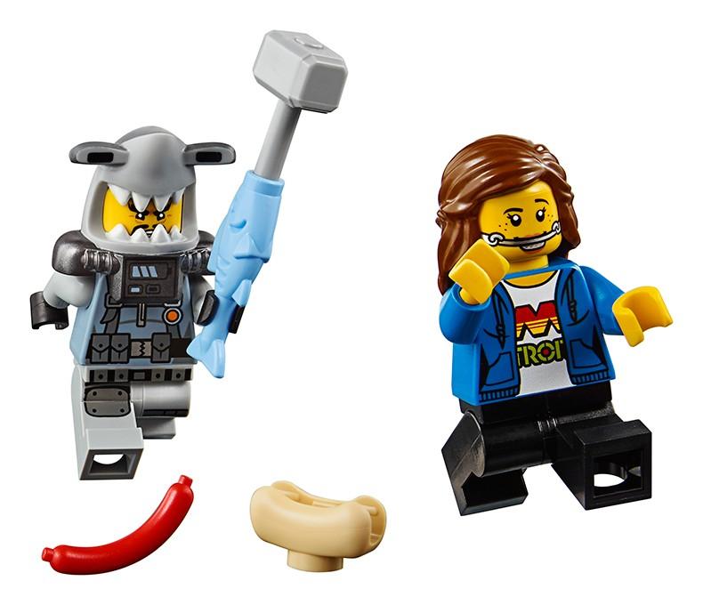 LEGO 乐高 幻影忍者大电影系列 70656 加满都的巨鲨机甲