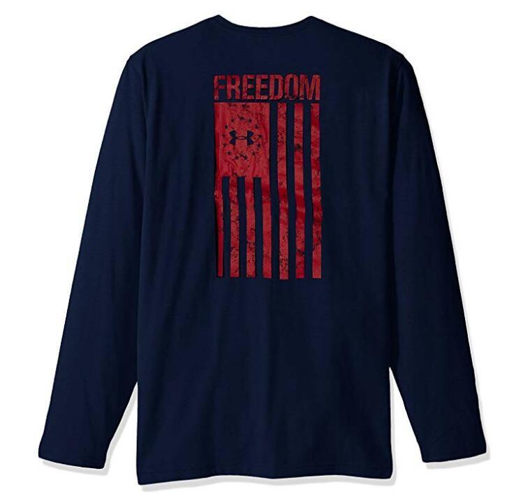 UNDER ARMOUR 安德玛 Freedom Flag 男士T恤