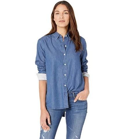 Levi\'s 李维斯 女士牛仔衬衫