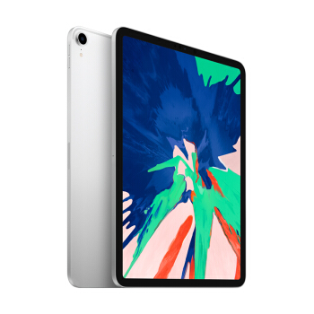 Apple 苹果 2018款 iPad Pro 11英寸平板电脑 银色 WLAN版 1TB