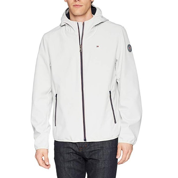 Tommy Hilfiger Performance Soft Shell 男士连帽夹克