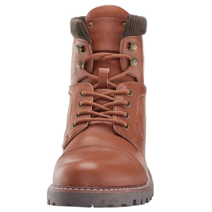 Tommy Hilfiger 汤米·希尔费格 EVINS 男士工装靴