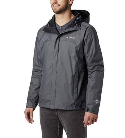 Columbia 哥伦比亚 Watertight II Front-Zip 男款防水冲锋衣
