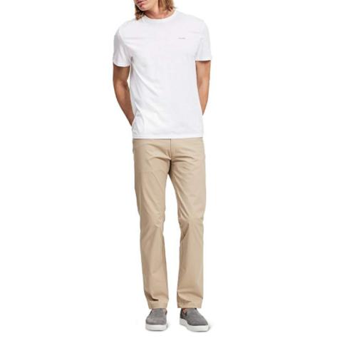 Calvin Klein 卡尔文·克莱 Stretch Sateen Casual 男款休闲裤