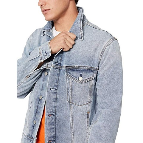 Calvin Klein JEANS 男式机车夹克