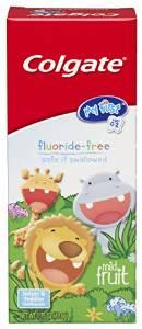 Colgate My First - 婴幼儿温和水果牙膏,1.75盎司每盒(6个装)