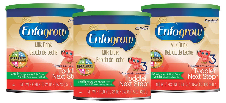 Enfagrow Toddler Next Step 奶粉,香草口味,680 克
