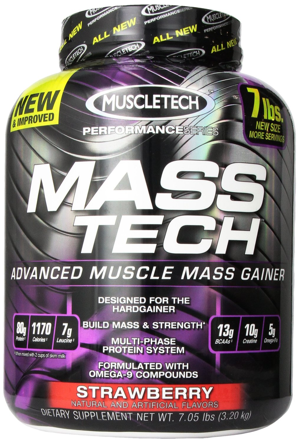 MuscleTech Masstech 性能补充剂