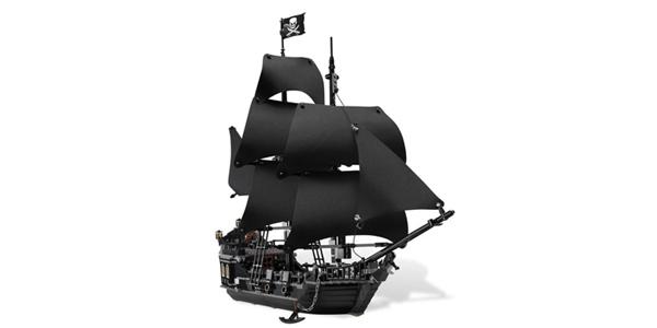 LEGO 乐高 Pirates of the Caribbean 加勒比海盗黑珍珠号