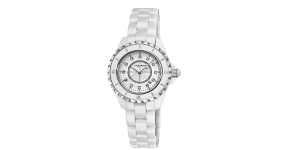 Akribos XXIV AKR485WT诱惑白色陶瓷女士腕表