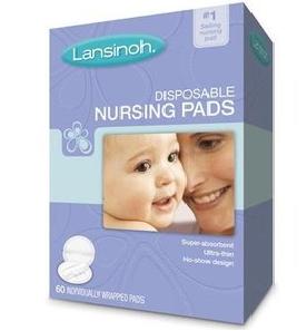 Lansinoh防溢乳垫(抛弃型),60片*4包