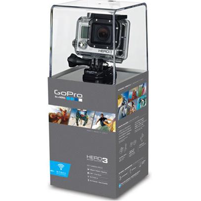 极限运动神器GoPro HD HERO3 Silver Edition 1080P三防运动摄像机 支持WIFI