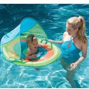 8.3折!SWIM WAYS宝宝专用带遮阳篷游泳漂浮圈