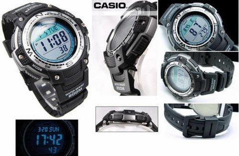 CASIO 卡西欧 SGW-100-1V 登山系列 运动男表