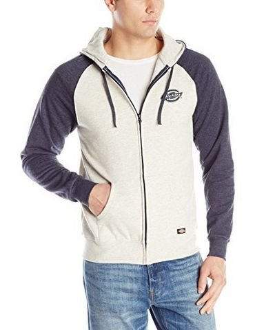凑单品:Dickies Raglan Full Zip Hood 男款帽衫