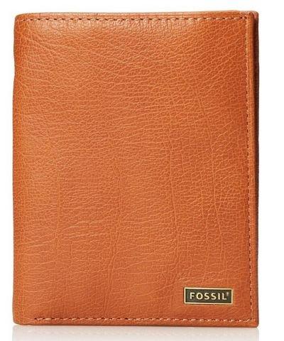 FOSSIL Omega Traveler 真皮折叠钱包