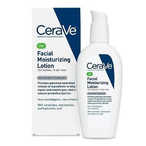 凑单品:CeraVe Moisturizing Facial 夜间美白保湿修复乳液