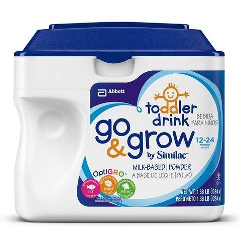 新补货:Similac 美国雅培 go & grow 金盾 婴儿配方奶粉 3段(624g*6罐)