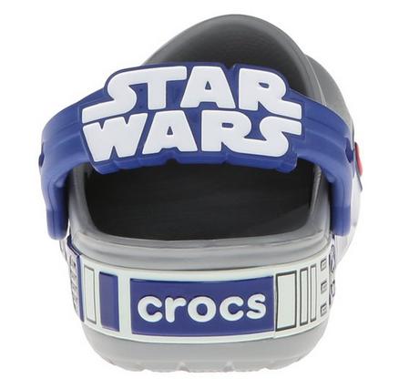 卡骆驰 Crocband Star Wars R2D2 小男孩星球大战 夜光洞洞鞋