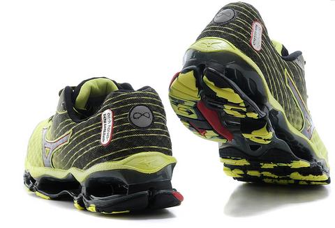 9.5码以上:Mizuno 美津浓 Wave Prophecy 4 男款顶级避震跑鞋