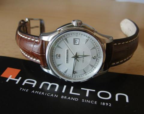 HAMILTON 汉米尔顿 Jazzmaster 爵士系列 H32515555 男士机械腕表