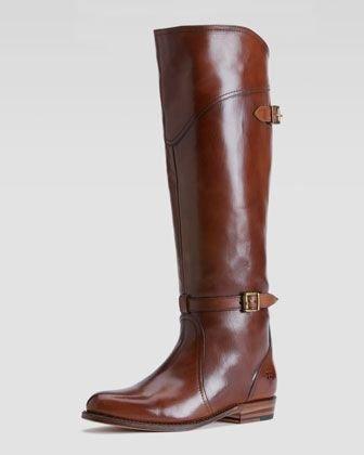 FRYE Dorado 女士高筒靴 棕色