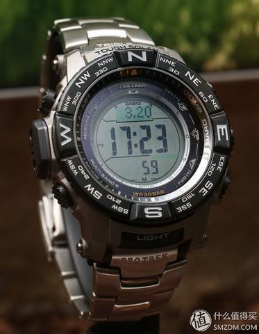 CASIO 卡西欧 PRW-3500T-7CR 登山系列 男款电波腕表( 钛合金版)