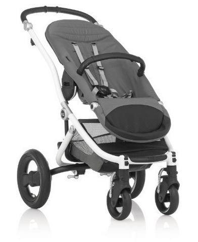 银色款好价:Britax 百代适 Affinity Base Stroller  高端款 婴儿推车