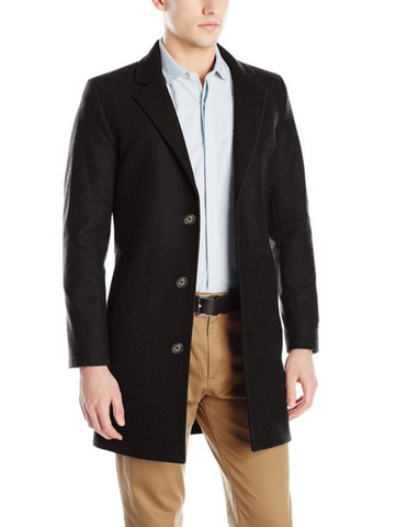 Prime会员专享:NAUTICA 诺帝卡 CC Wool Blend 羊毛混纺外套