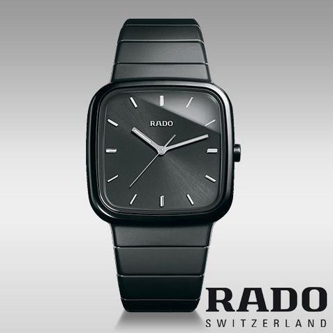 RADO 雷达 R5.5 皓星系列 R28888152 男士计时陶瓷腕表