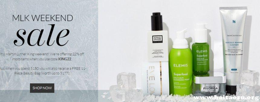 SkinStore:精选NIOD、filorga、nuface等热卖美妆护肤 无门槛7.8折+满0送价值7好礼 - 海淘优惠海淘折扣 55海淘网