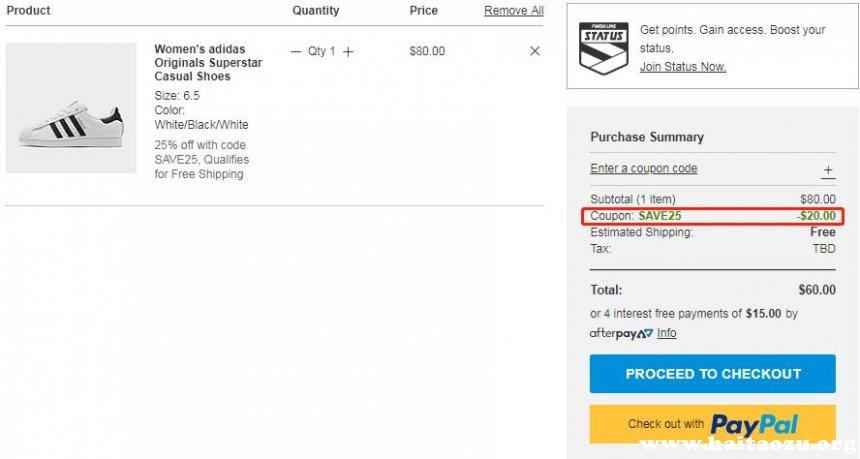 【延长】Finishline:精选 adidas、Nike 等运动鞋服 额外7.5折 - 海淘优惠海淘折扣|55海淘网