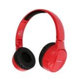 Pioneer 先锋 SE-MJ553BT 无线蓝牙头戴式耳机 红色 $38.99(约249元)