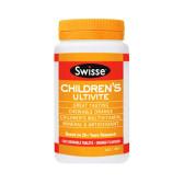 【限时抄底价】Swisse 儿童专用复合维生素 120片 12.99澳币(约63元)