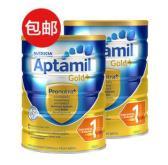 【一件包邮】Aptamil 爱他美 金装1段婴幼儿奶粉 900g*2罐 63.99澳币(约309元)