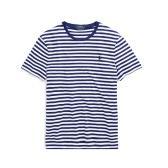 POLO RALPH LAUREN Classic Fit Cotton T-Shirt 拉夫劳伦 男士 海军风 短袖 $29.99(约192元)