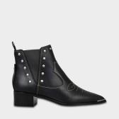 反季囤~Acne Studios JEXY ANKLE BOOTS IN BLACK CALF 黑色踝靴 $455(约2,909元)